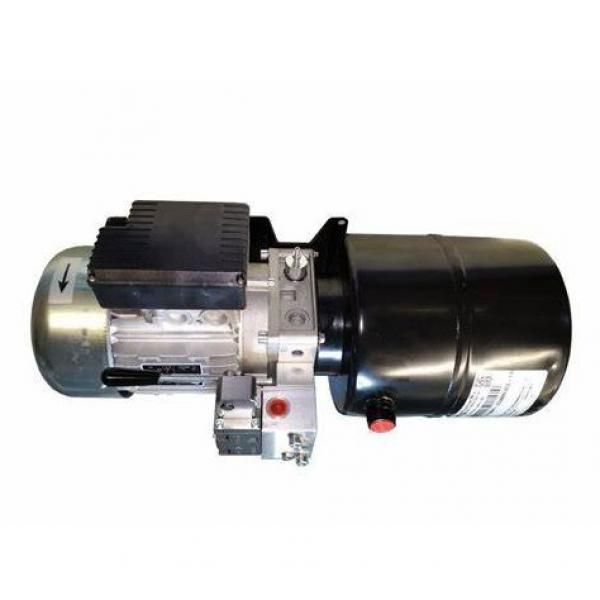 "Bucher Hydraulic 1/2"" 70 l/min one bank motor spool lever valve 3 position deten"