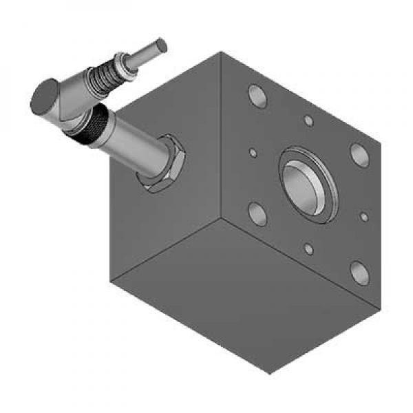 Bucher 4 Bank 1/2 BSP 45 l/min Double Acting Cylinder Spool Hydraulic Monoblock