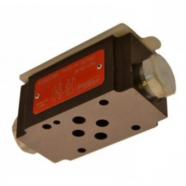 Hydraulic Monoblock Valve 1 Bank 3/8 BSP 40 l/min Motor Spool 3 Position Detent